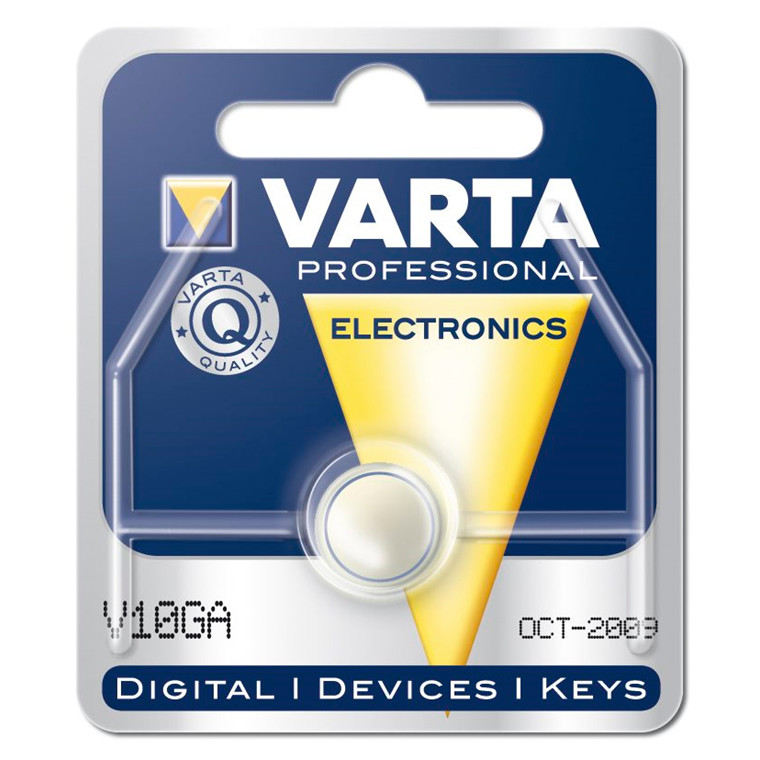 Varta batteri Electronic - LR54 V10 GA 1,5V 50 mAh