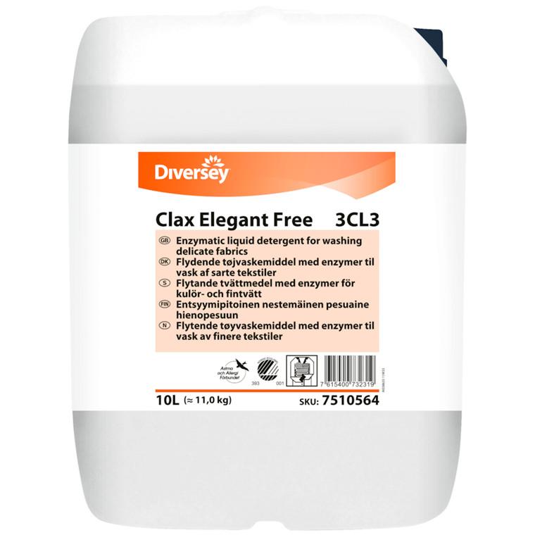 Vaskemiddel, Clax Elegant G 30B1, flydende, 10 l