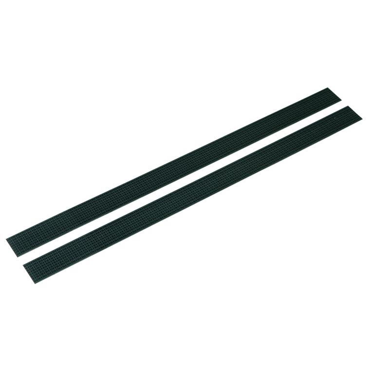 Velcrostrips sæt, til komposit, sort, 25 cm