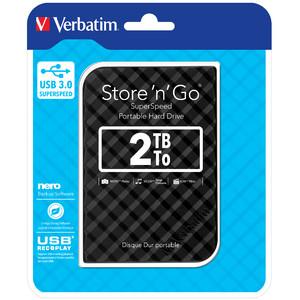Verbatim 2TB Hard Drive 2,5'' Store 'N' Go USB 3.0, Black