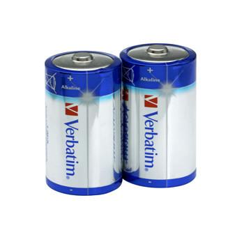 Verbatim Battery Alkaline LR20/D 1,5V (2)