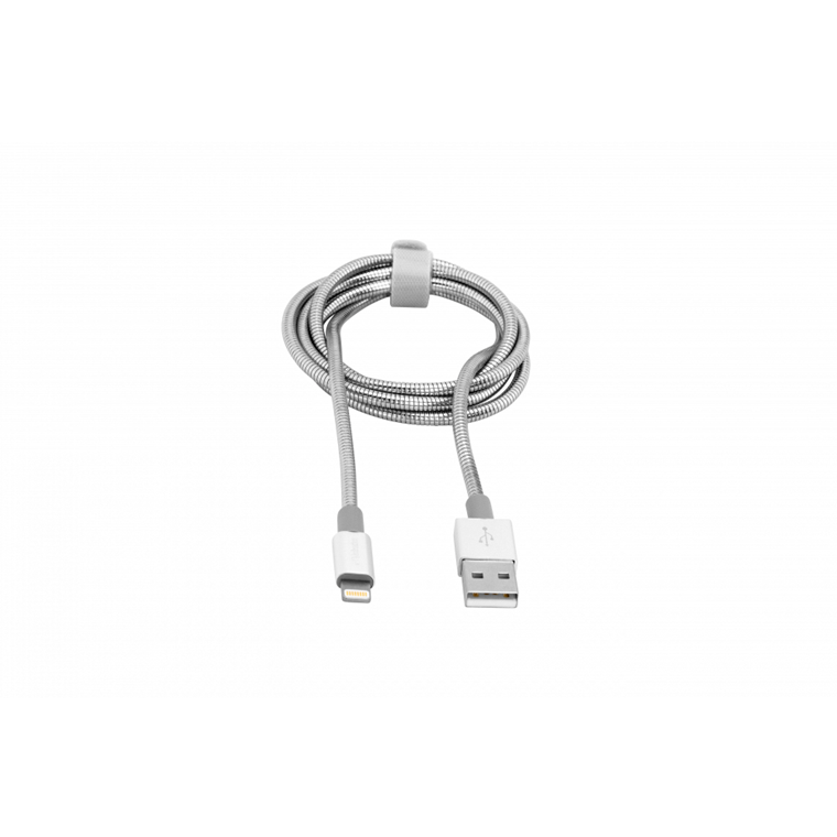 Verbatim Lightning Cable Sync & Charge 100Cm Silver