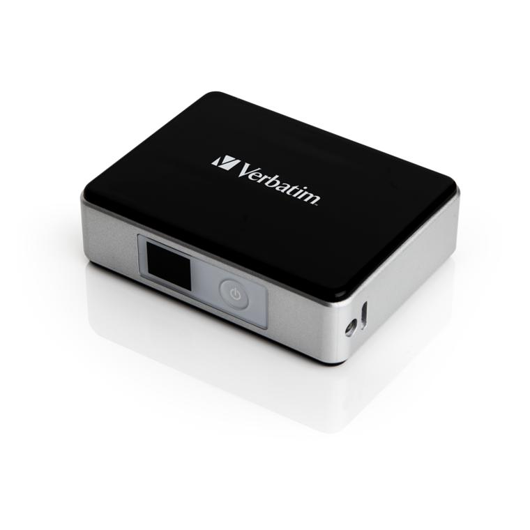 Verbatim Pocket Power Pack 5200Mah, Incl. Led Indicator And Flash Lig