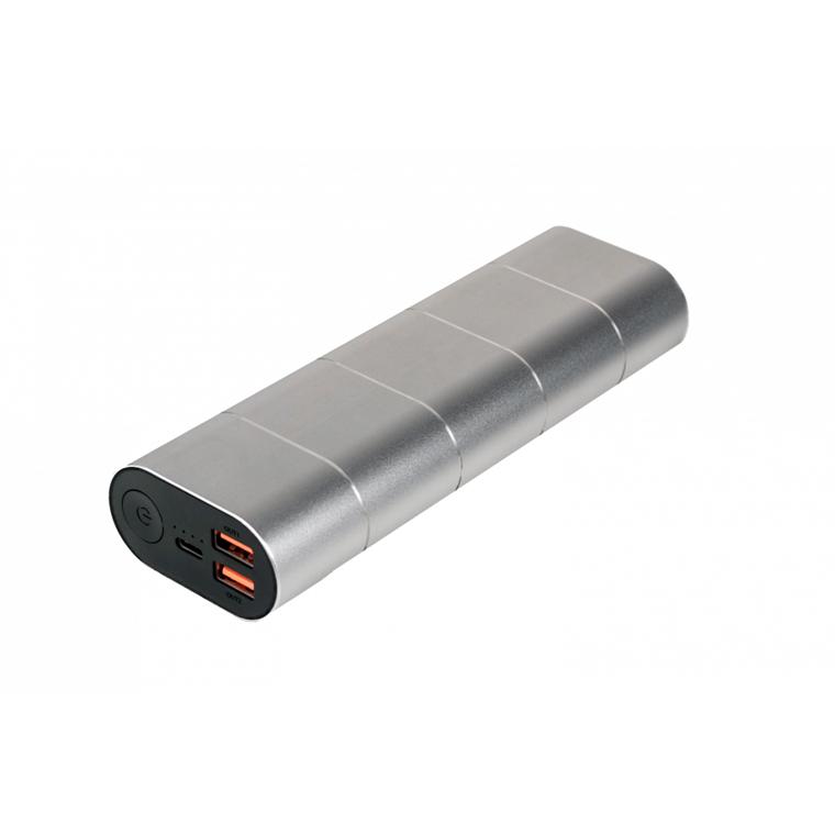Verbatim Powerbank 10000Mah Grey/Silver Metal Qc3 & USB-C