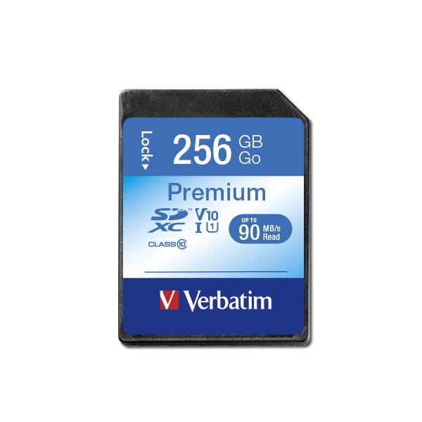 Verbatim SDXC Card 256GB Class 10