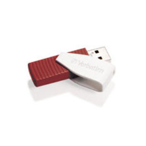 Verbatim USB key 16GB Store 'N' Go Swivel, red