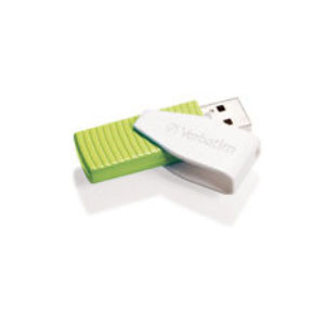 Verbatim USB key 32GB Store 'N' Go Swivel, green