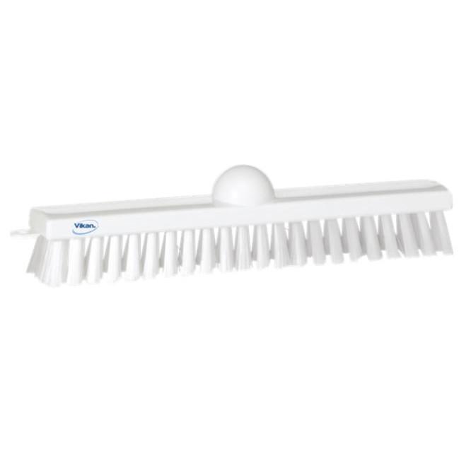 Vikan 3660 - Hvid Gulvskrubbe med stive børstehår - Længde: 295 mm