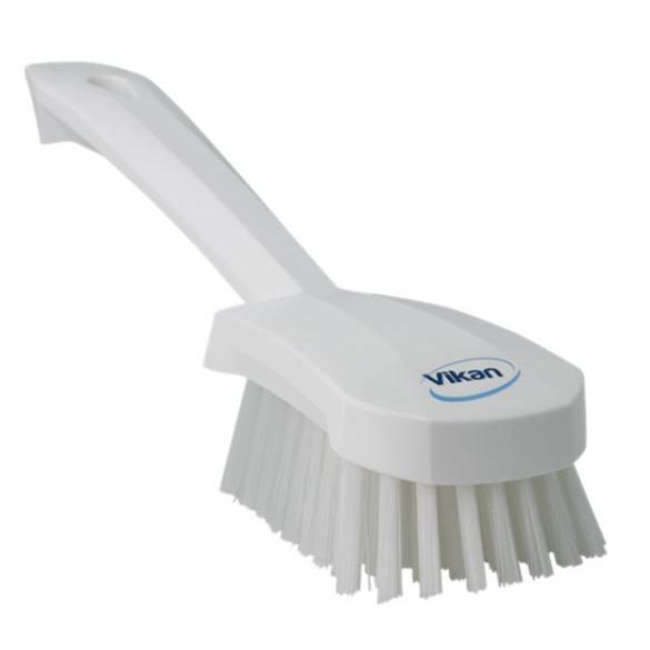 Vikan 41925 Vaskebørste med kort skaft - Stive børstehår Længde: 270 mm