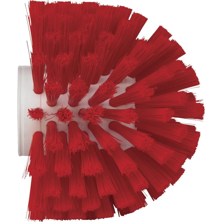 Vikan Hygiejne, medium filamenter, rød, 13,50 cm,