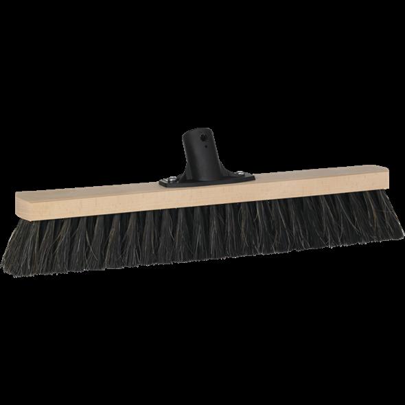 Vikan Træ Fejekost med socket - Bløde børstehår - Længde: 420 mm