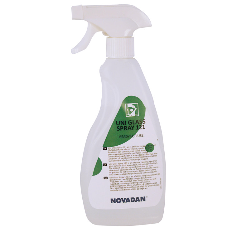 Novadan Uni 121 Glass Spray Vinduesrens - 750 ml