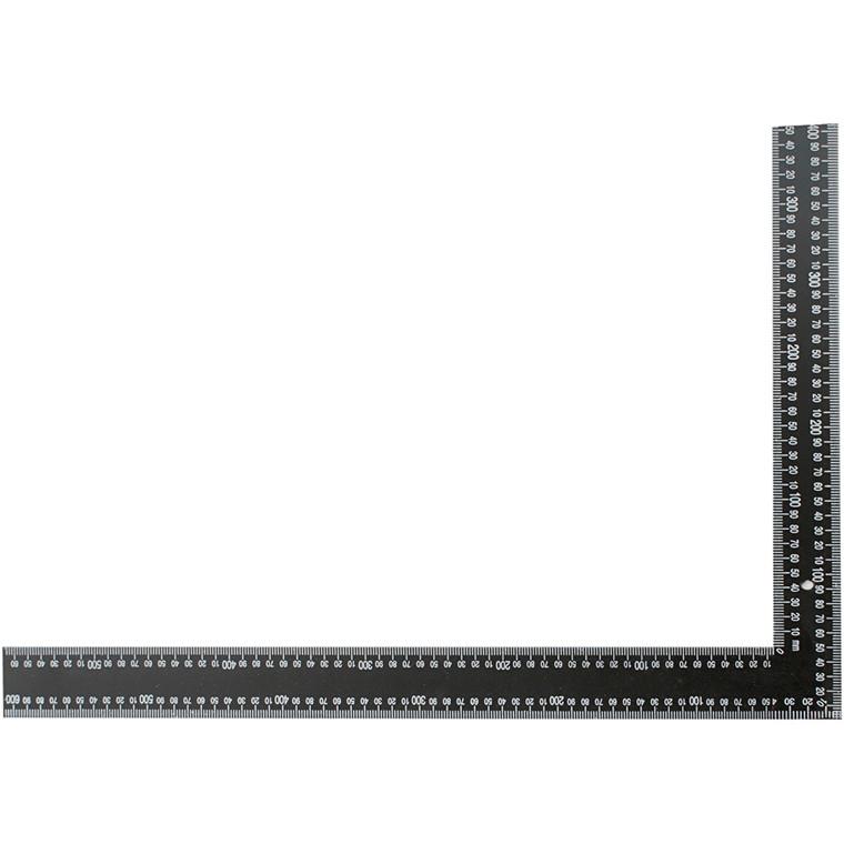 Vinkel lineal | størrelse 40 x 60 cm