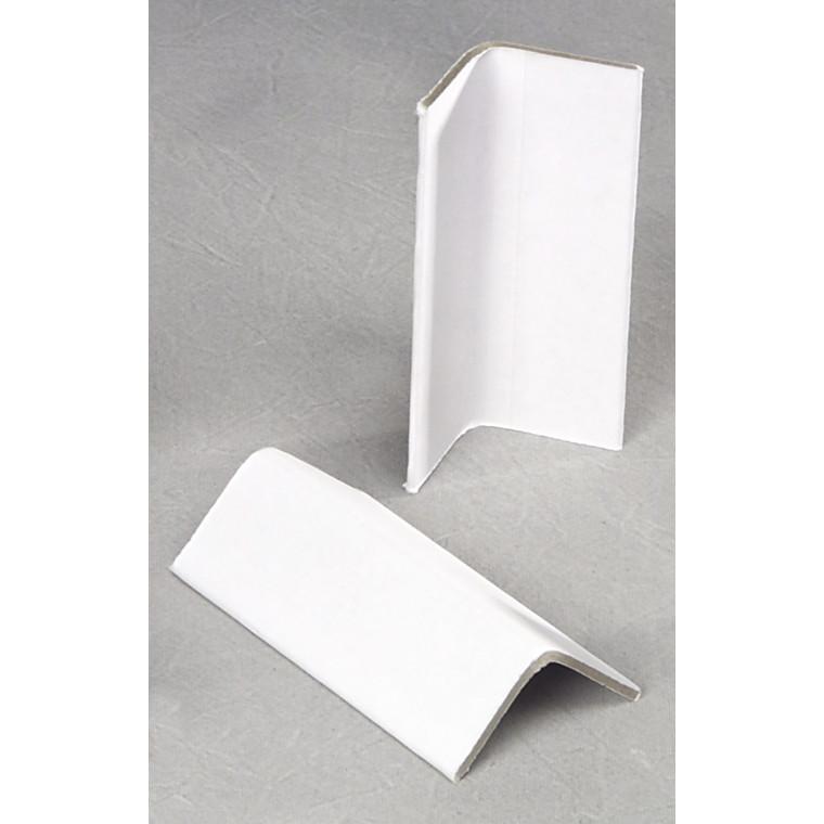 Vinkellister karton hvid 35x35x2,5x100mm-1800stk pr kar