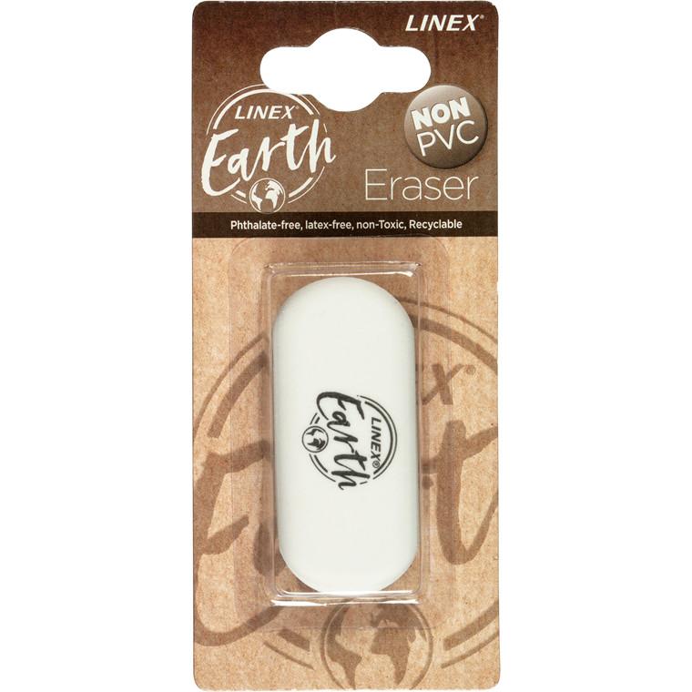Viskelæder Linex Earth 61x28x12mm 1st blister