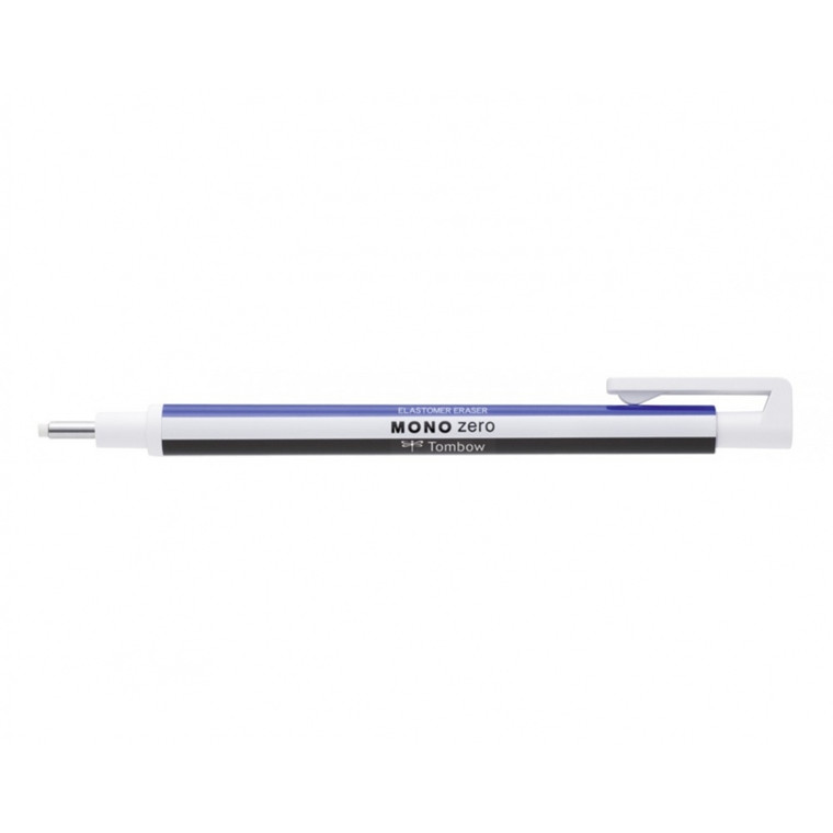 Viskelæder pen Tombow MONO Zero Ø2,3mm sort
