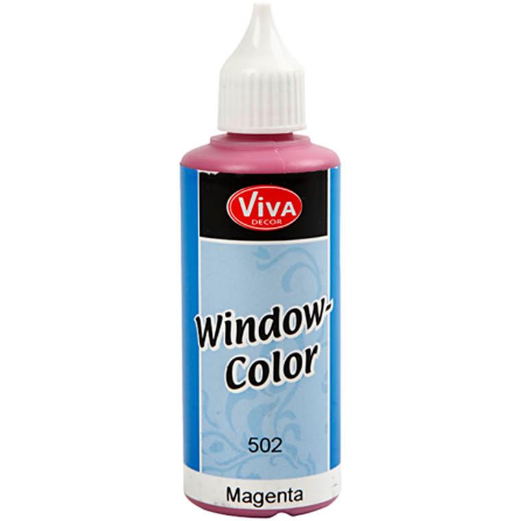 Viva Decor Window Color, magenta, 80ml