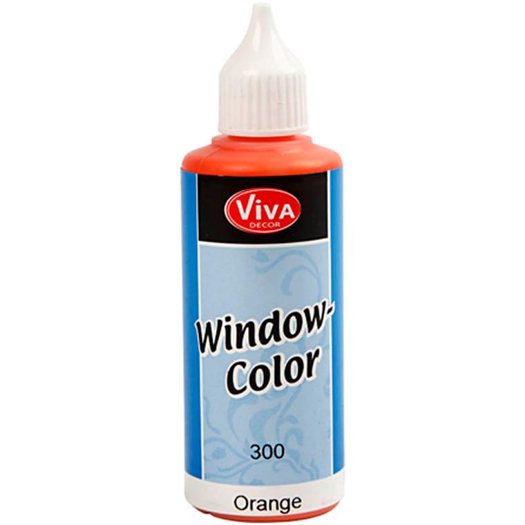 Viva Decor Window Color, orange, 80ml