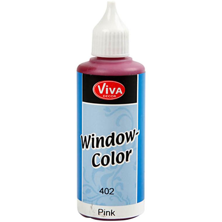 Viva Decor Window Color, pink, 80ml