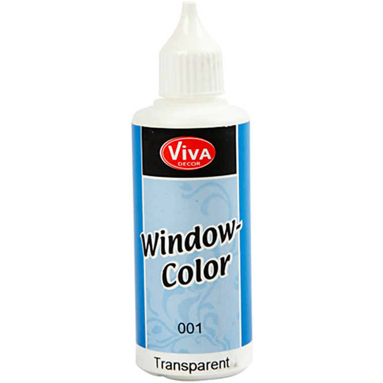Viva Decor Window Color, transparent, 80ml