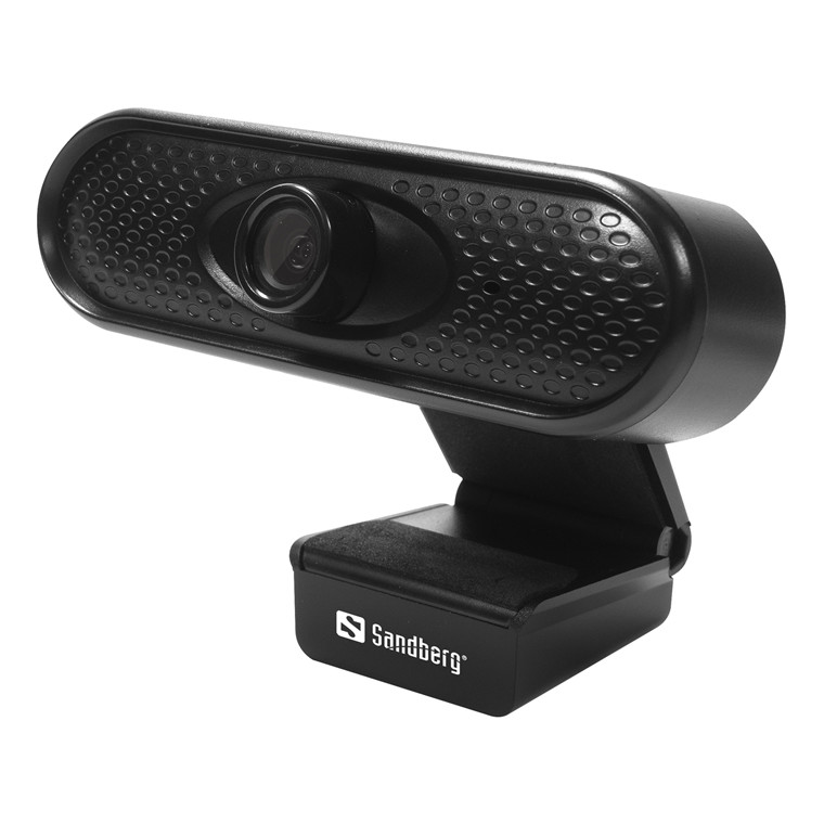 Webkamera Sandberg 1080P USB Webcam Full HD sort