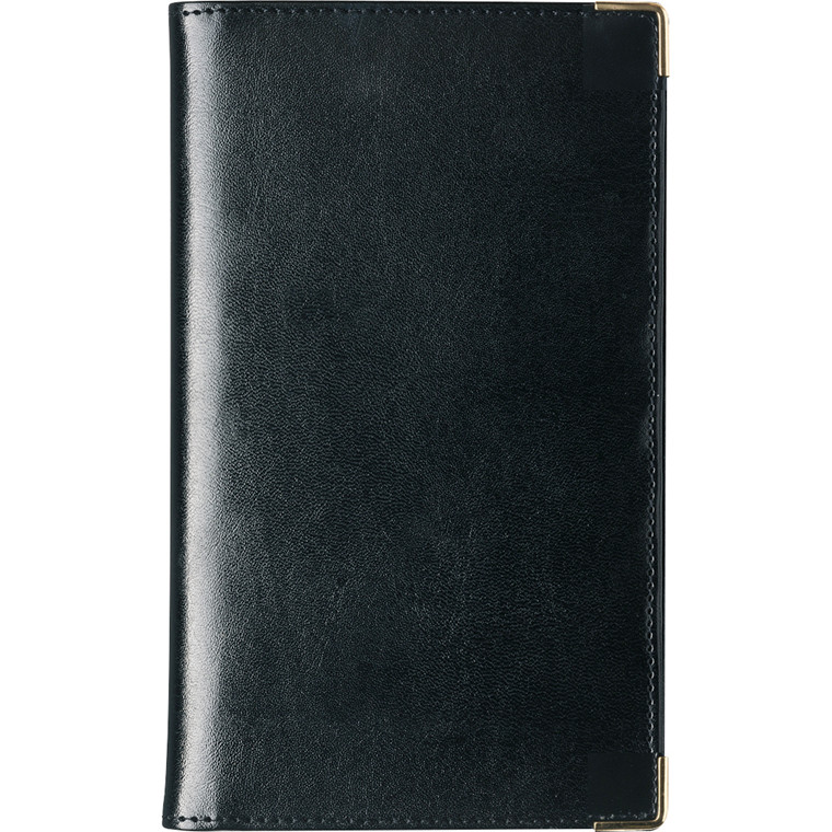 Weekplanner kunstskind sort 9,5x17cm tværformat 20 0850 00