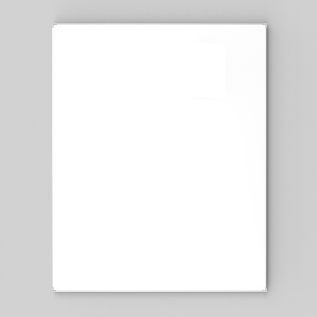 Whiteboard - Lintex Boarder med aluminiumsramme 90 x 120 cm
