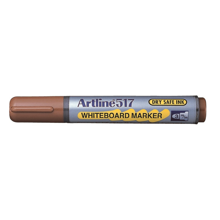 Whiteboard Marker Artline 517 brun