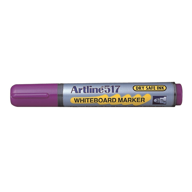 Whiteboard Marker Artline 517 lilla