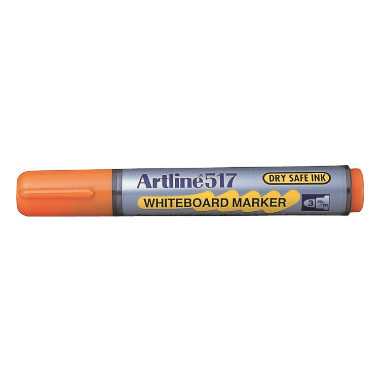 Whiteboard Marker Artline 517 orange