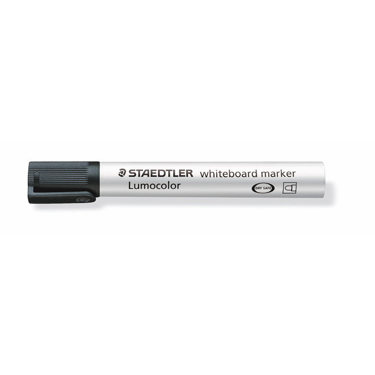 Whiteboard tuscher - Staedtler Lumocolor sort 2,0 mm