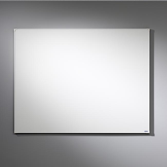 Whiteboardtavle - 250 x 153 cm Lintex Boarder med hvid ramme