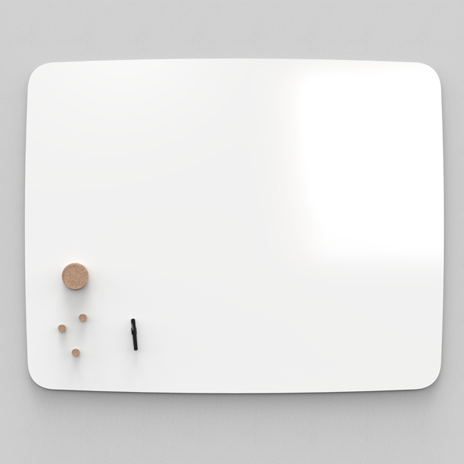 Whiteboardtavle - Lintex AIR Flow 150 x 120 cm hvid