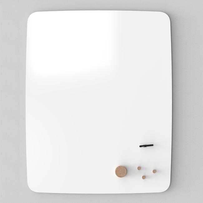 Whiteboardtavle - Lintex AIR Flow 100 x 120 cm hvid
