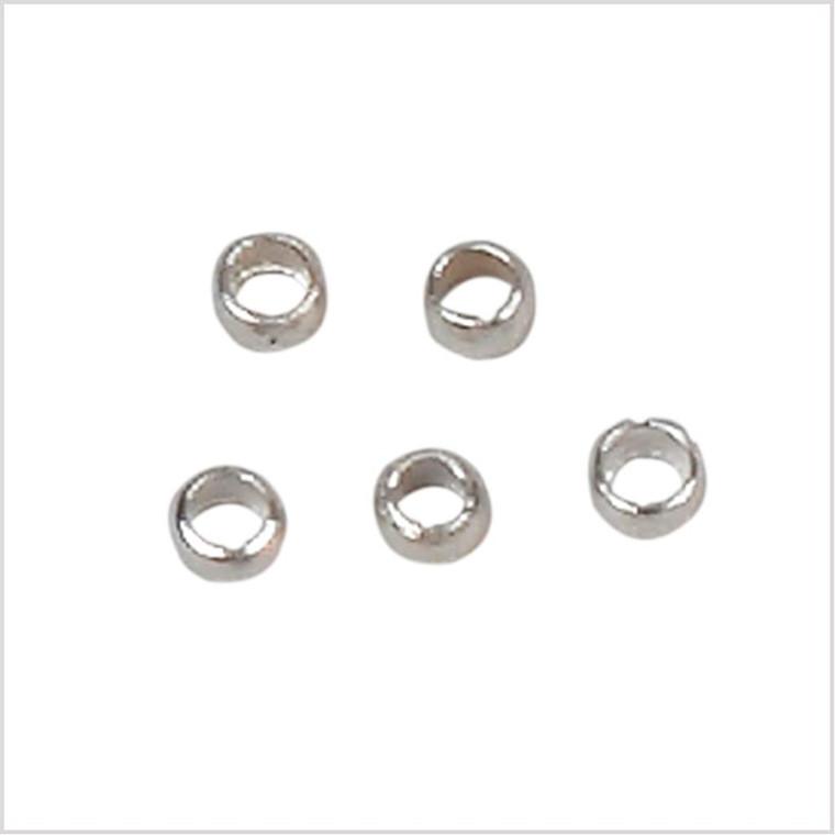 Wireklemmer, 2,5 mm, forsølvet, FS, 1000 stk.