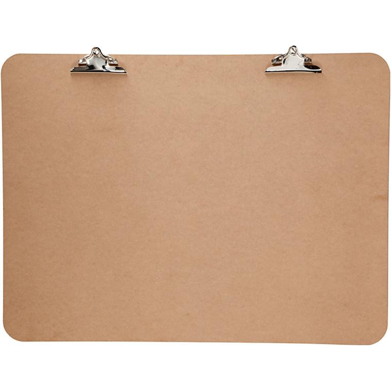 XL Clipboard, str. 75x100 cm, tykkelse 5 mm, MDF, 1stk.