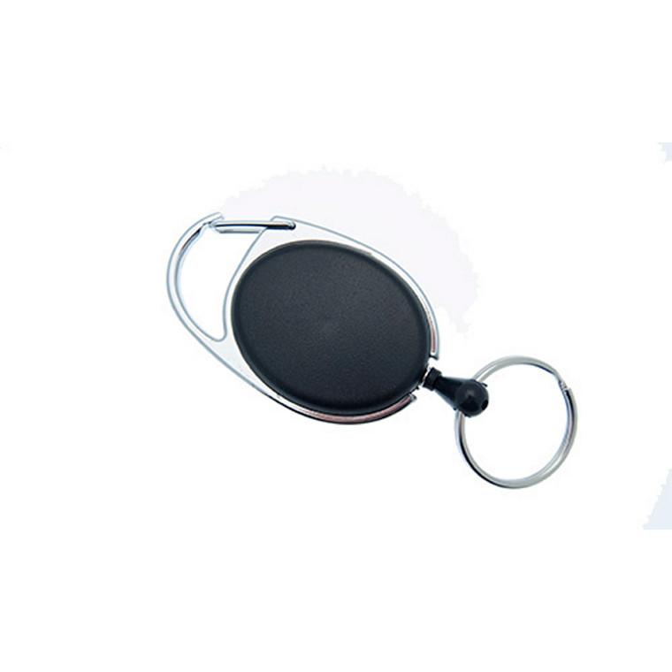 Yo-Yo nøglesnor NN sort m/krog og wire