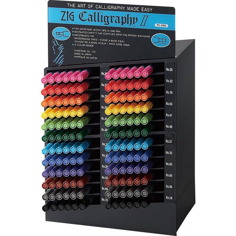 ZIG Calligraphy II Set 2/3.5 mm 144/display