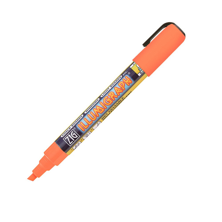 ZIG Illumigraph B orange 6 mm