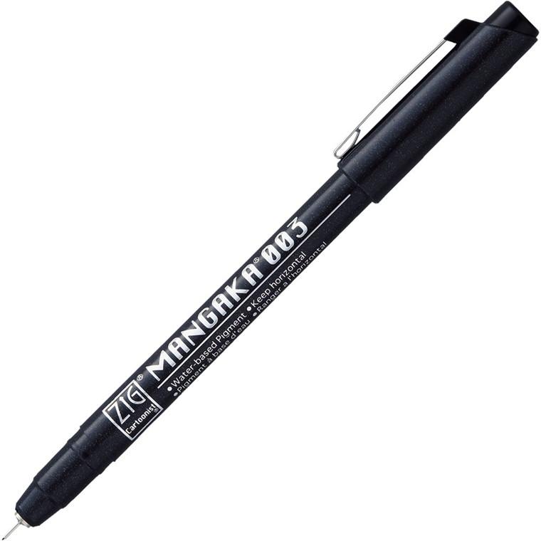 ZIG Mangaka Fineliner 003 Black
