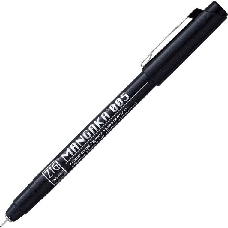 ZIG Mangaka Fineliner 005 Black