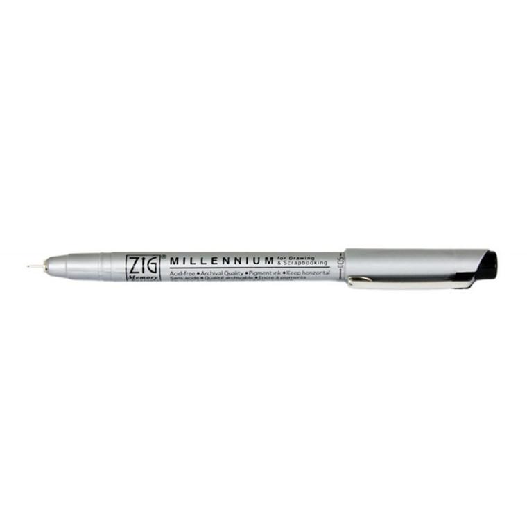 ZIG Millennium Pen 0,05mm sort