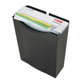 HSM Shredstar document shredder S5 6,0mm strip cut black
