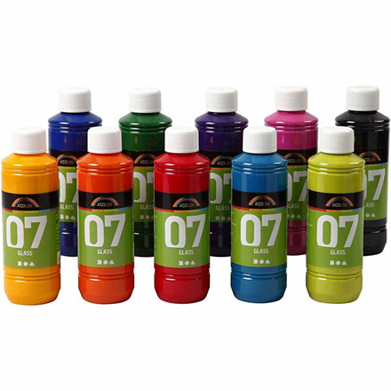 A-Color Glass, 10x250ml