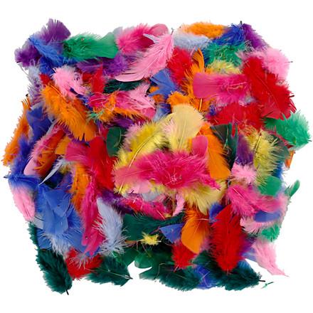 Dun - Assorteret farver - Størrelse 7-8 cm - 50 g