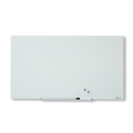 Nobo Glastavle Diamond - Hvid 68 x 38 cm