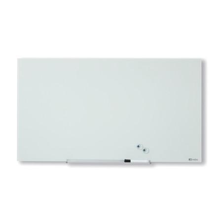 Nobo Glastavle Diamond - Hvid 99 x 56 cm