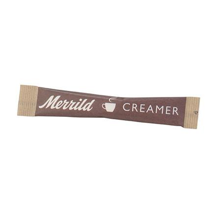 Flødepulver sticks Merrild - 2,5 gram - 500 stk.
