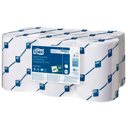 Tork 471110 - H13 Papirhåndklæder Advanced hvid 2-lag enMotion - 6 ruller