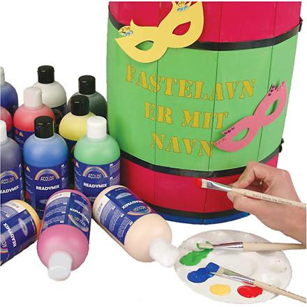 Akrylmaling - A-Color - 02 mat - 15 x 500 ml
